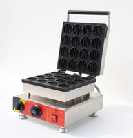 bakers products - New Products Electric Waffle Baker Waffle Stick Maker Bakery Machines Stroopwafel For Sale