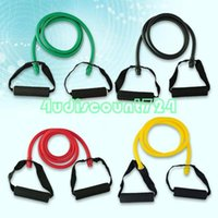 Wholesale heavy resistance band slim stretch fitness tube for workout yoga muscle exercise EC0057