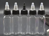 acid juice - Fedex DHL E Juice ML ML ML ML Plastic PET with Screw Twist Cap Plastic Dropper bottles for More E liquids