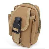 army acu bags - Outdoor Mens Sports M2 Tactical Waist Bags Molle Tactical Phone Bags Hiking Trekking Travel Pocket Organizer ACU Army Green