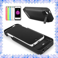bank handbags - Battery Charger Phone case Portable Make up Power Bank Cover Case with Stand Holder for iphone s iphone plus