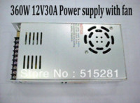 adapt adaptation - 360W V30A Switching Power Supply Adapter with Fan for Project LED Transformersin Steel Box adapt adaptation