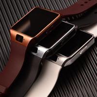 Wholesale Smart Watch For Apple iPhone Samsung Smartwatch Fitness Tracker Speaker Bluetooth Wristwatches Remote Camera Clock PK DZ09