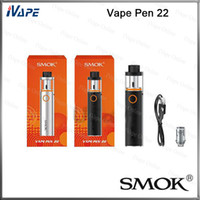 battery systems - 100 Original Smok Vape Pen Starter Kit With mah Built in Battery New Designed Tank All in one Vapor System
