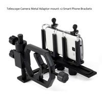 Wholesale Universal Astronomical Telescope Digital Camera Metal Adaptor Mount with Smart Phone Brackets