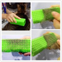 Wholesale Dogs cleaning Grooming Comb For Long And Short Hair Pets Brush S M L Metal Blade Dog Hair Remover Pet hair cut Tool