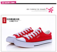 Wholesale HOT New Color All Size Low Style sports stars chuck Classic Canvas Shoe Sneakers Men s Women s Canvas Shoes black white red