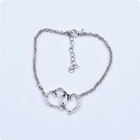 best beach sandals women - Best Deal New Diomedes Diomedes Double Heart Chain Beach Sexy Sandal Anklet Ankle Bracelet for Lady Perfect Gift pc