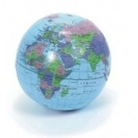 Wholesale Inflatable World Globe CM Inflate Earth Atlas Ball Map Geography Toy