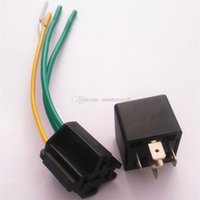 automotive relays bosch - 12V DC A car alarm dedicated Automotive Relay Socket SPDT Bosch Style M00013 CARD