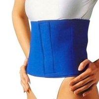 belly trimmer - Womens Slimming Waistband Lose Weight Belt Cincher Burn Fat Cellulite Belly Trimmer Exerciser Sauna Body Shaper De
