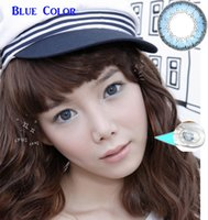 Wholesale hot sale Nature design color contact lenses with case in bright and shiny cosmetic contact lenses