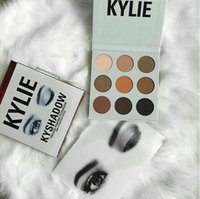 Wholesale in USA popular kind colour kylie eye shadow cream Eye shadow Cosmetics makeup matte lasting eyeshadow palettes
