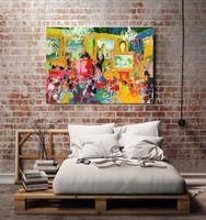 art auctions - US high tech HD Print Oil Painting Wall Decor Art on Canvas Unframed Art auction x18inch