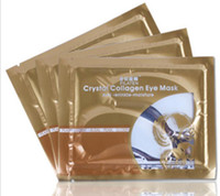 Wholesale Pilaten Crystal Collagen Eye Mask Eye Pad Patch Mask Anti Dark Circle Wrinkle Eye Care drop shipping