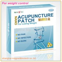 acupuncture safe - china patent product natural safe slim patch Nano far infra acupuncture patch for weight loss CE approved