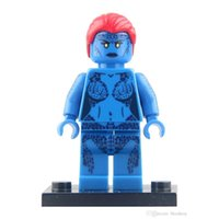 best marvel heroes - PG029 Building Blocks toys Mystique Bricks Minifigures Marvel X man Professor Super Heroes Avengers Star wars best kids Mini figures toys