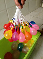 Wholesale New pack Water Balloons In Bunch Kids Children Outdoor Summer Game To