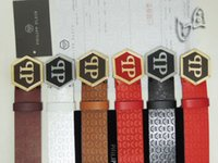 Wholesale real photo high quality new fashion leather brand dseigner pp men and women belt A006
