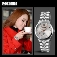 activities calendars - New fashion lovers lady man steel belt calendar quartz watch waterproof activity fashion contracted business watch