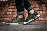 Wholesale 2016 Original NMD XR1 OLIVE Shoes Mens Fashion Running Shoes