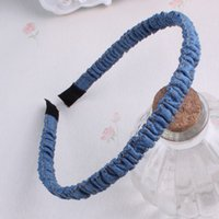 act manual - 2016 Denim hair band Bownot the head band Fashion girl jewelry Manual first act the role ofing is tasted The new listing