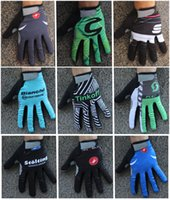 Wholesale 2016 winter thermal fleece cycling long gloves sport ciclismo invierno winter cycling gloves bicycle mtb long finger bike gloves T