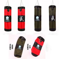 Wholesale High quality SIZE CM empty fitness speed training MMA Thai sparring boxing kickboxing sand punching bag sandbag
