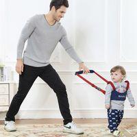 Wholesale High quality Baby Walking Harness helper Walker Kid s Safe Walking Protective Belt Child Harnesses Learning Assistant baby Walking Bracer