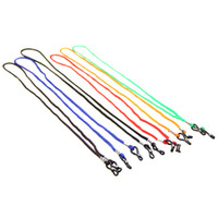 Wholesale 30PCS Colorful Eyeglasses Sport Cord Chain String Holder glasses chain with good quality silicone loop