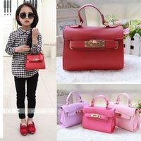 Wholesale Fashion princess girls handbag lock bag gift for children