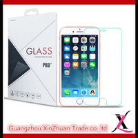Wholesale For Iphone s s G plus mm H Tempered Glass Screen Protector Protective Guard Film Front Case Cover Clean Kits