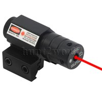 batteries red dot sights - Hunting Rifle Red Dot Laser Sight mm Weaver Picatinny Rail Mount Batteries Included
