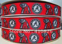 alabama ribbon - ribbon quot mm Alabama sport design printed grosgrain ribbon yards roll for headband hair tie