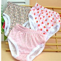 Wholesale Baby Girl Underwear Panties Children Pants Kids Shorts High Quality Bragas Cartoon Bear Baby Underpants calzoncillos marcas NK07