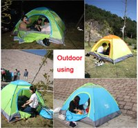 Wholesale Quick Automatic Opening Outdoor Camping Hiking TentS Family Tent Person Season Oxford
