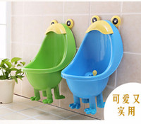 Wholesale 2015 new Potty Training Boys Baby Toilet Hang On Wall Urinary Children Stand Urinal