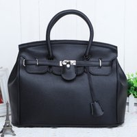Wholesale Famous Brand Designer Purses New Fashion CM Litchi Leather Lock Handbags Celebrity Tote High Grade Women Bags