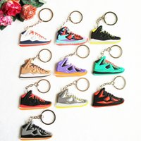 Wholesale Cute Lebron Key Chain Sneaker Keychain Key Chain Key Ring Key Holder for Woman and Girl Gifts Souvenirs