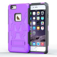 anti slippery - ARLEN in Kickstand Case Shockproof DustProof Anti slippery Iphone Plus Case With Dual Layer Hybrid Hard PC and TPU Protective Cover