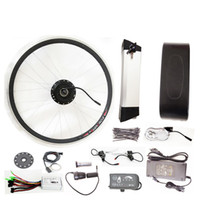 bicycle engine conversion kit - 36V W Electric Bikes Conversion Kit With Battery Electrical Kit Conversion Bicycle Electric Bicycles Engine Kits with big controller