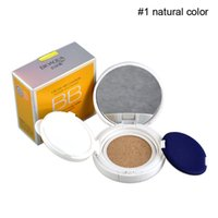 Wholesale BIOAQUA Air Cushion Nude BB Cream With Sponge Mirror Concealer Moisturizing Foundation Bare Strong Whitening Face Beauty Makeup