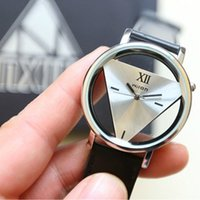 Wholesale Hot Pc Leather Band Stainless Steel Sport Analog Quartz Women Mens Wrist Fashion Watch