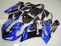 zx6r fairing - New Fit Guarantee motorcycle Fairing Kit Fit Kawasaki Ninja ZX R r ZX636 Cool black blue