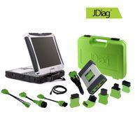 ECU  Programmer best online laptop - Lifetime Free Update Online JDiag Elite with CF19 Laptop Automotive J2534 ECU Tools Car Diagnostic Programming Scanner Best Quality
