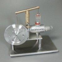 Wholesale LS002 Balance Type Aluminum Alloy Hot Air Stirling Engine Motor Model motor spirit motor figure