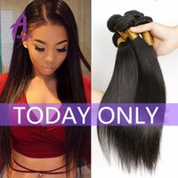 Wholesale 8A Grade Brazilian Hair Straight Bundle Deals Human Hair Bundles Brazillian Straight Hair Brazilian Hair Weave Bundles