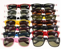 Wholesale 2016 New Arrival mm Fashion Classic Sunglasses Eyewear Beach Sun Glass Multi color Sunglass Packagings