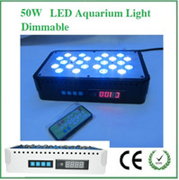 Wholesale Dimming W X3W PA LED aquarium light programmable Saltwater reef corals marine aquarium freshwater saltwater light