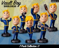 big boys heads - fallout figures toys with original box gaming heads vault boy bobbleheads series PVC action figure for kids toys fallout action figures